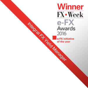 Integral's FX Yield Manager™ Awarded Prestigious e