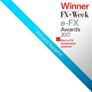 Integral's BankFX™ Awarded Best e-FX distribution platform Award by FX Week